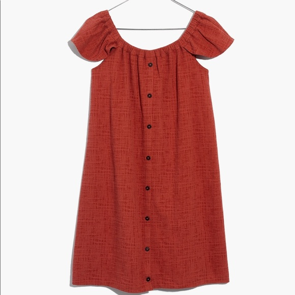 996ae1bfde3dd Madewell Dresses   Texture Thread Off The Shoulder Dress   Poshmark